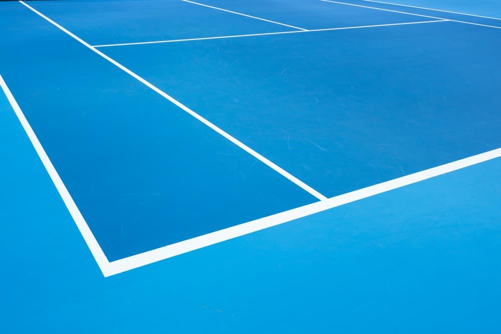 Outdoor Tennis Net Shallow Depth of View