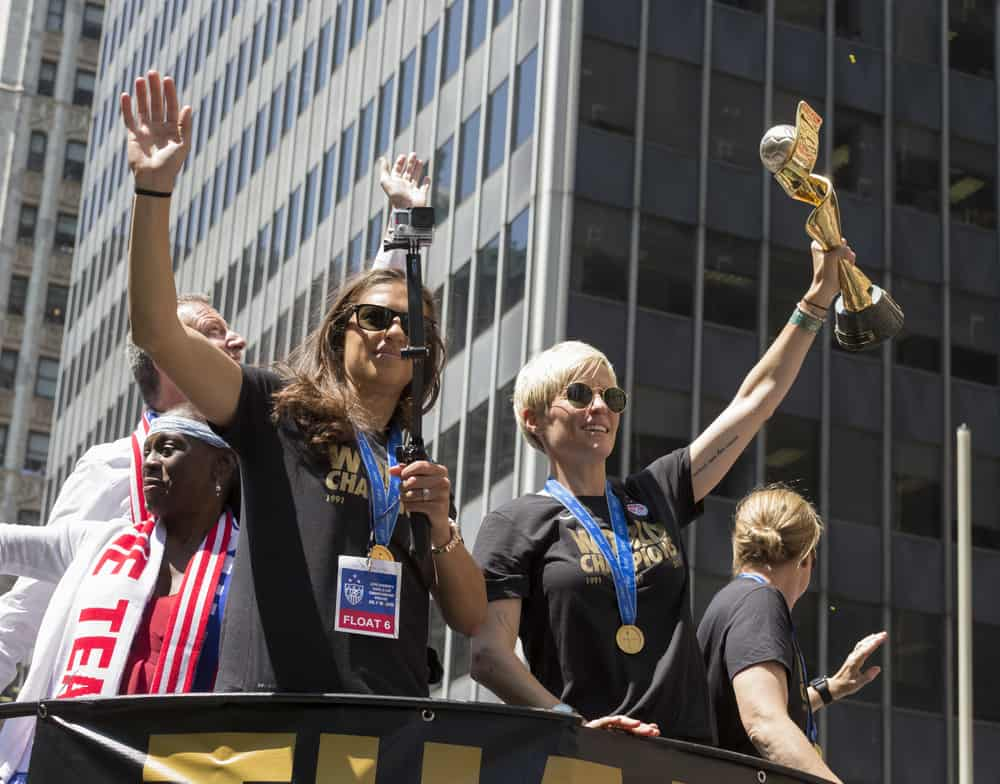 Parade For World Cup Champions U.S. Women Soccer National Team