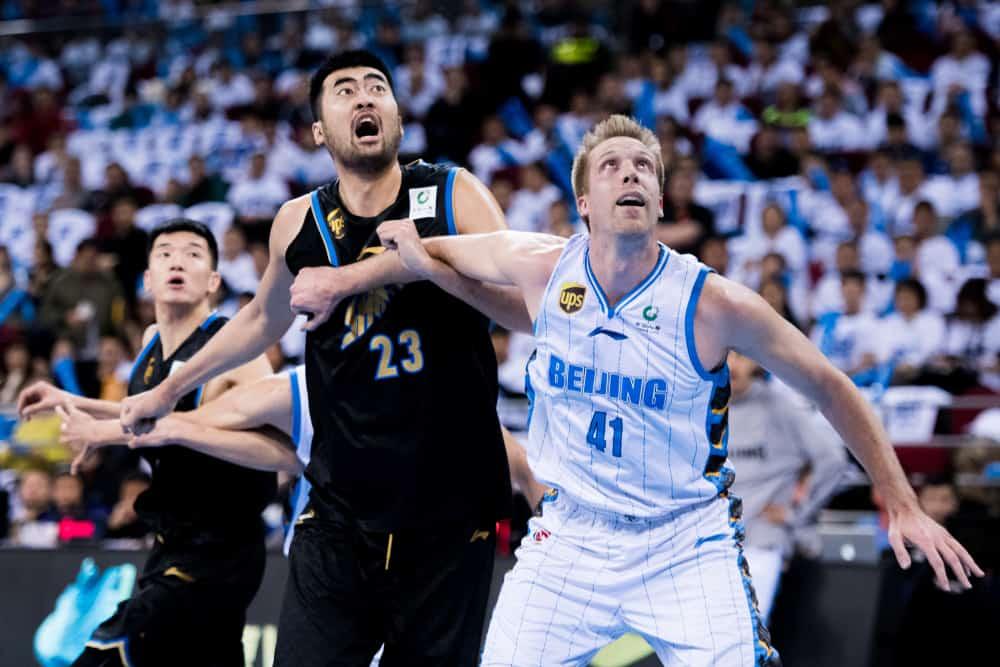 CBA Playoff game between Beijing Ducks and Shanghai Sharks Bilibili
