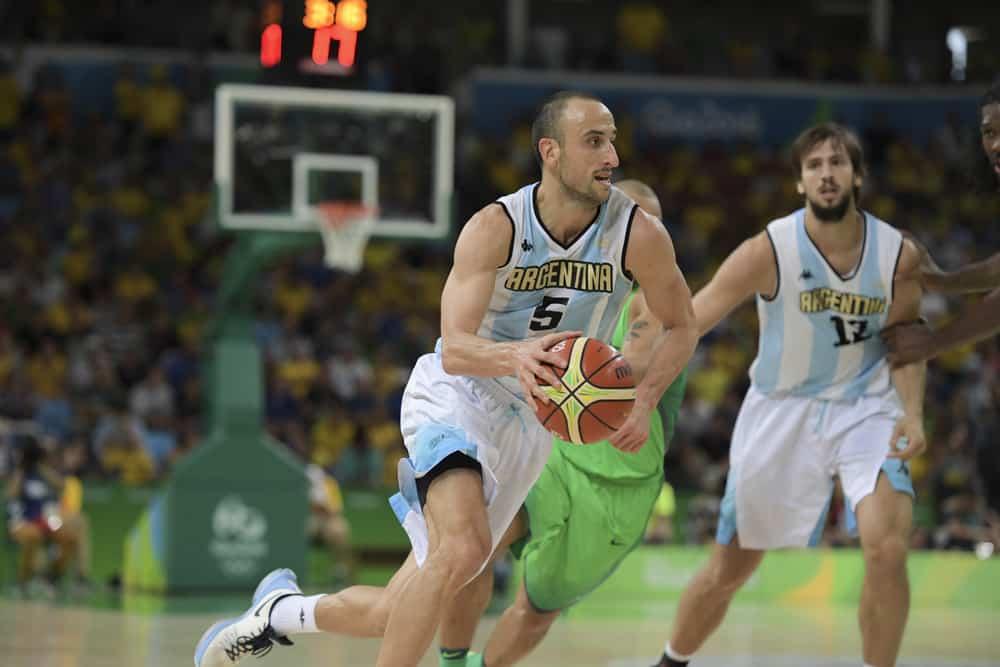 GINOBILI Manu (ARG) during basketball game Brazil (BRA) vs Argentina (ARG)