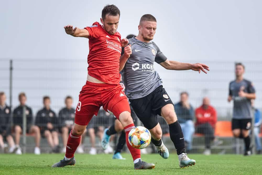 Polish Cup soccer match