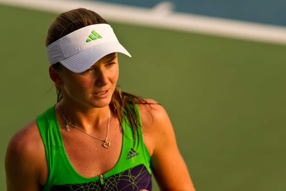 Slovakian tennis player Daniela Hantuchova