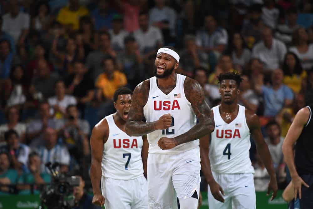 United States Basketball Selection at the 2016 Olympic Games