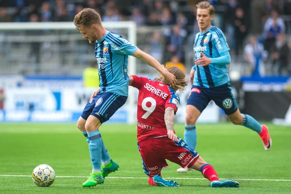 soccer Match between Djurgarden IF and IFK Goteborg