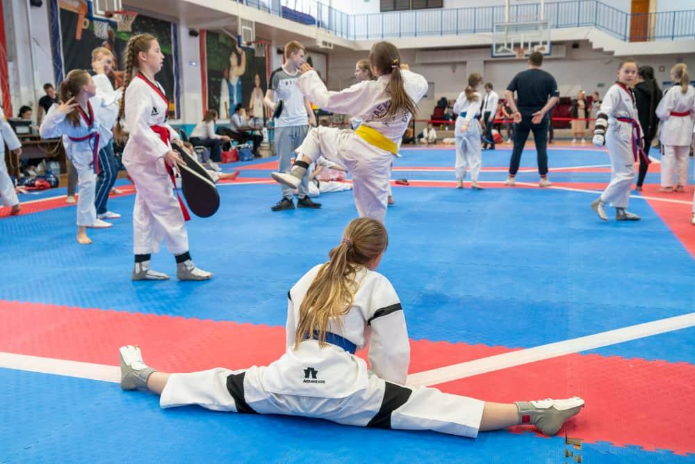 the Championship of Chelyabinsk region in Taekwondo WTF amon